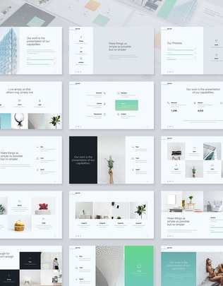 Thumbnail for Selected - Minimal & Business Template (KEY)