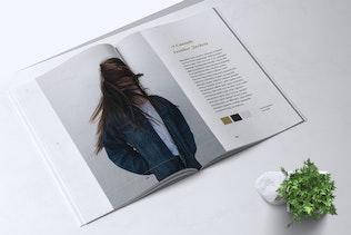 Thumbnail for ROSELLINE Minimal Fashion Lookbook