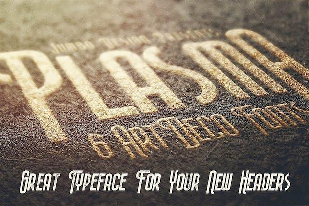 Plasma - ArtDeco Style Font - product preview 3