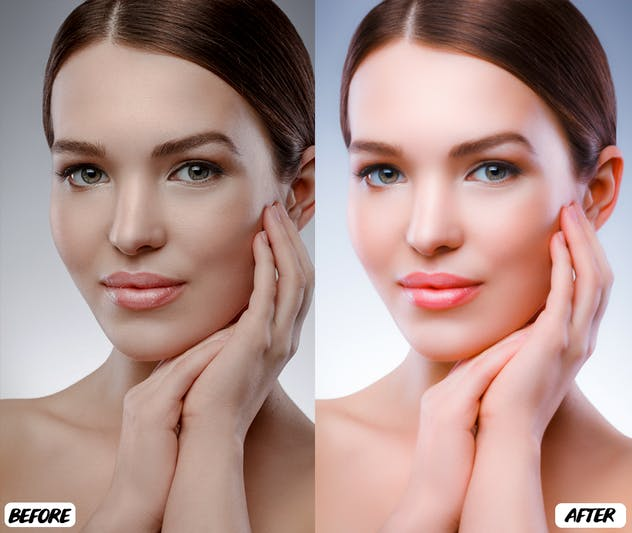 Skin Retouch Lightroom Presets - product preview 4