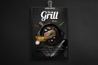 Thumbnail for Barbeque Menu - Flyer