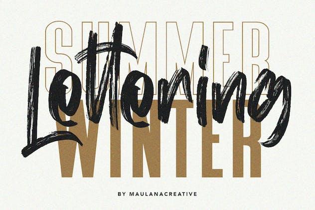 Mist Sunshine Font Bundle - product preview 1