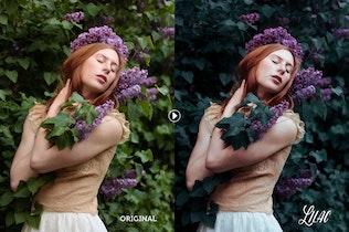 Lilac Toning Lightroom Presets