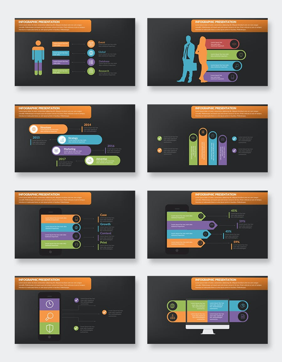 Infographics Keynote Presentation - product preview 10