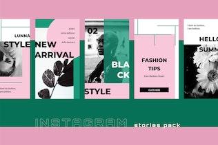 Thumbnail for Lunna - Instagram Stories Kit