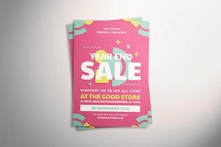 Thumbnail for Geometric Sale Flyer