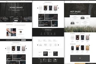 John Grand - Best PSD Template for eCommerce