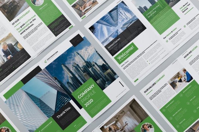 Creative Agency Company Profile - product preview 2