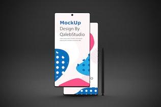 Dark Note 10 V.2 Mockup