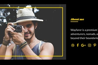 Thumbnail for Wayfarer Tumblr Theme