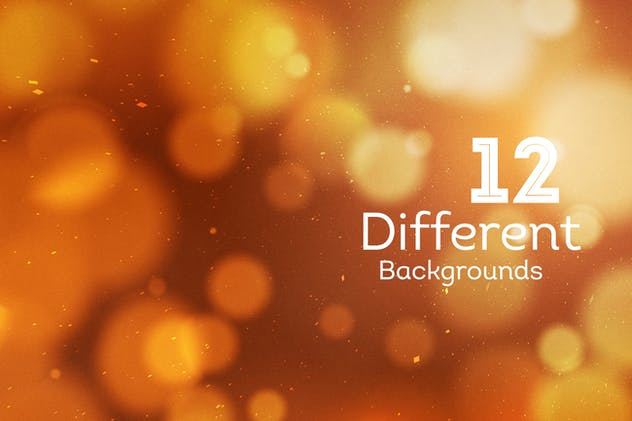 Bokeh Abstract Backgrounds - product preview 4