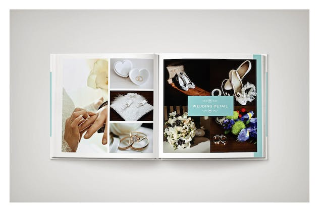 PSD - Minimalist Wedding Album - product preview 10