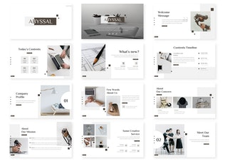Thumbnail for Abyssal - Business Keynote Template