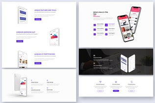 35 Features Widgets for Web UI Kit Ver-03