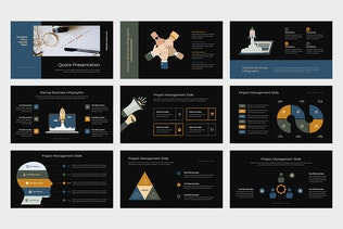 Thumbnail for Quore : Vector Infographic Business Keynote