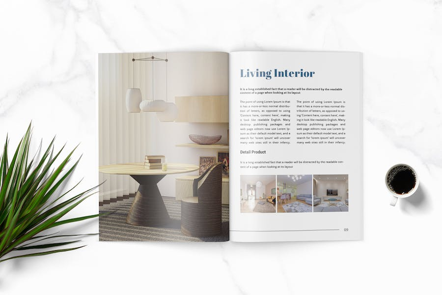 Lisa - Furniture Magazine Template - product preview 3