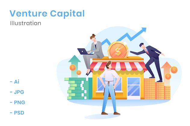 Venture Capital Illustration