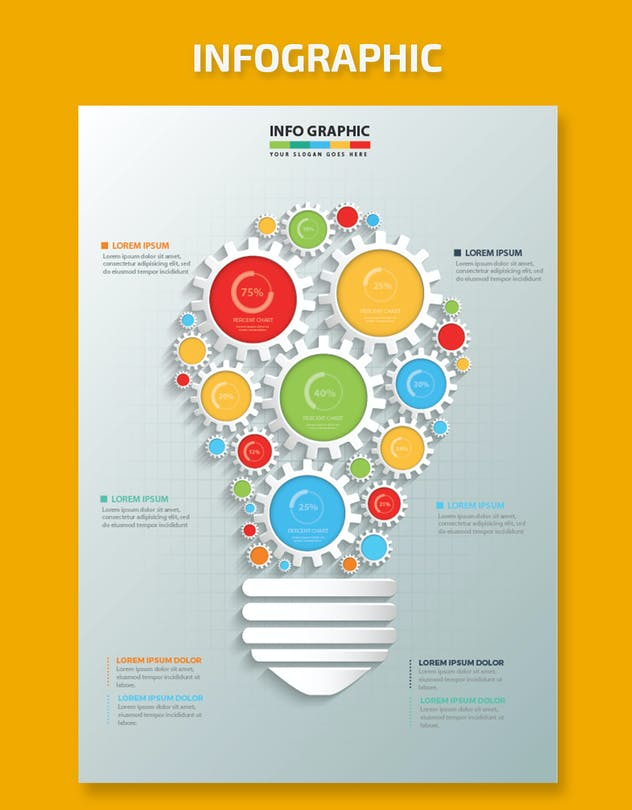 Idea Infographic Design - product preview 4