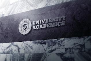 Thumbnail for 3D Logo Modern Wall Sign Mock-Ups