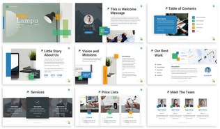 Thumbnail for Lampu - Innovative Powerpoint Template