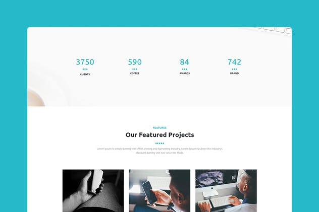 Mountain - CMS Unbounce Template - product preview 2