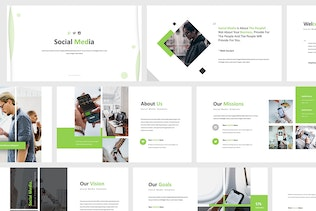 Thumbnail for Social Media Powerpoint Template