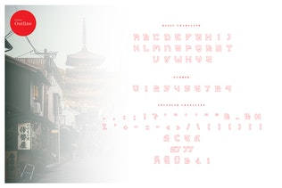 Thumbnail for Kyoto - Japanese Display Typeface