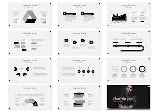 Миниатюра для Минимальная   Шаблон слайдов Google