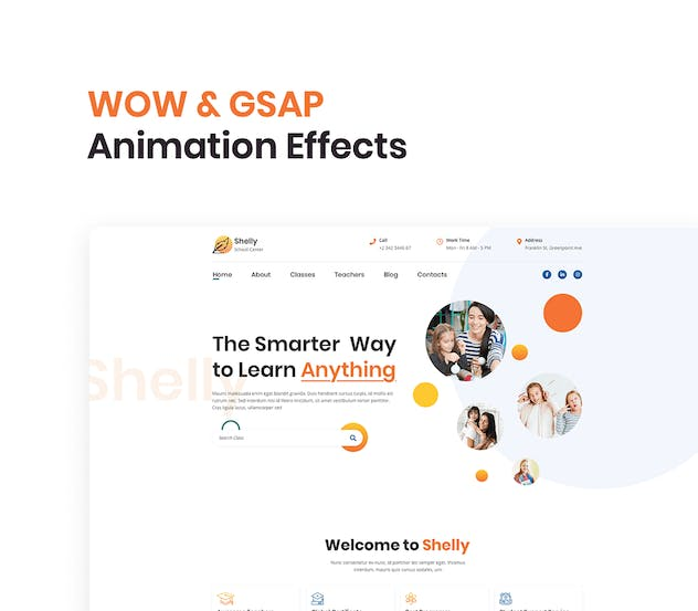 School Website Template - product preview 5