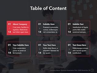 Marketing Mix Keynote Template