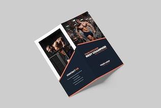 Gym – Bundle Print Templates 5 in 1