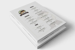 Thumbnail for ChefBistro Food Menu Flyer