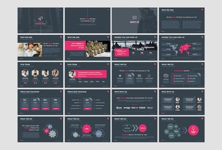 Thumbnail for Sante - Powerpoint Template