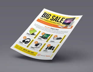Thumbnail for Big Sale Promotion Flyers