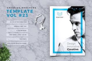 Thumbnail for Creative Brochure Template Vol. 23