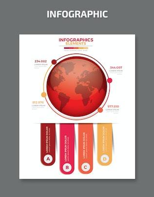 Миниатюра для Глобальный инфографический дизайн
