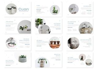 Thumbnail for Cuan - Google Slides Template
