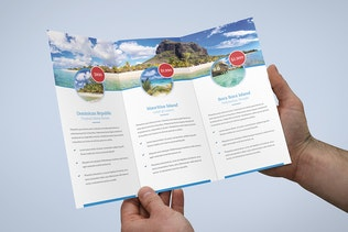 Thumbnail for Brochure – Travel Agency Tri-Fold
