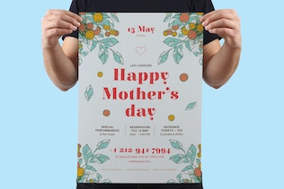 Thumbnail for Mother's Day Poster Template