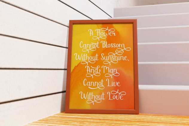 Sunshine Mind - Display Script Font - product preview 6