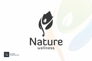 Nature Wellness - Logo Template