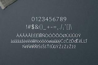 Thumbnail for Maleah Sans Serif Font Family Pack