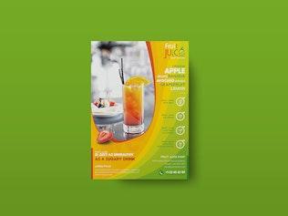 Thumbnail for Fruit Juice Shop/ Flyer Template