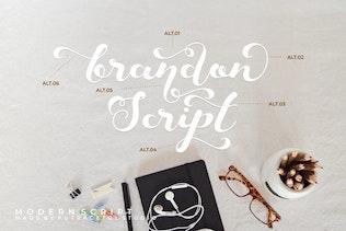 Keshia - Современный шрифт