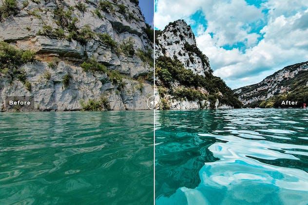 Lake Geneva Mobile & Desktop Lightroom Presets - product preview 1