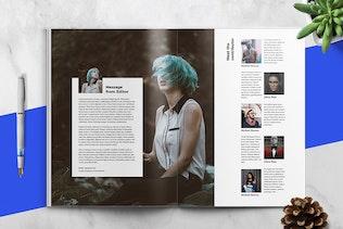 Thumbnail for FOTOGRAFI - Magazine Template