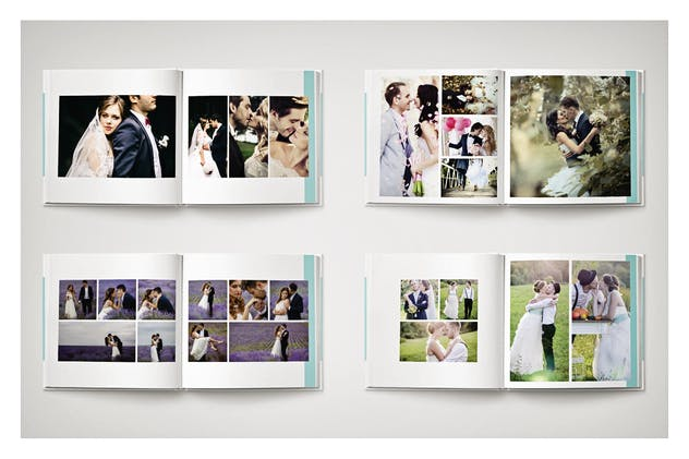 PSD - Minimalist Wedding Album - product preview 3