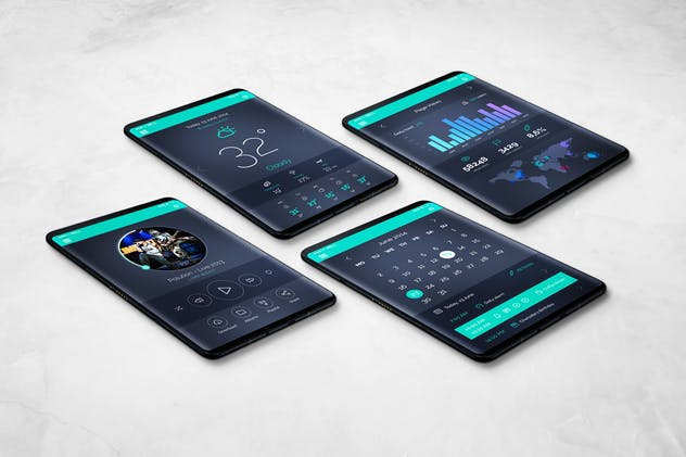 S9 Tablet Mockup - product preview 9