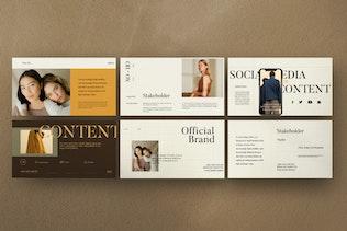 Soho - Creative  Marketing Google Slide