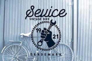10 Vintage Bike Badges